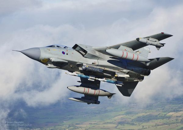 Des Tornado de la Royal Air Force déployés à N'Djamena au Tchad