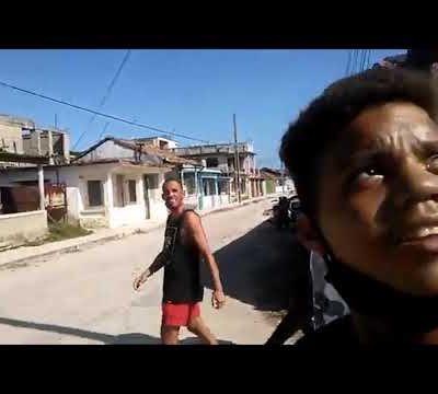 Suelta desde Santa Cruz del Norte Cuba