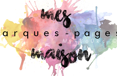 Mes marques-pages maison (n°1)