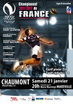 """Nancy-Volley"" - Chaumont (championnat de France)"