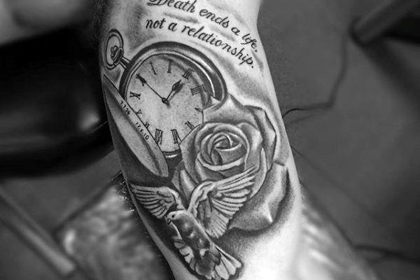Tatouage mort et vie