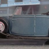 ROLLS ROYCE PHANTOM III DECOUVRABLE 1939 SOLIDO 1/43 ROLLS CABRIOLET ROLLS CONVERTIBLE - car-collector.net