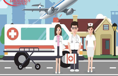 Vedanta Air Ambulance in Bhopal - Provides the Best Features All the Time