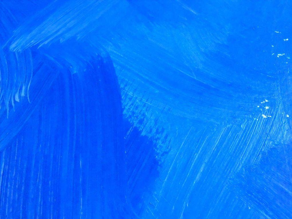 Totem - Acrylique et papier découpé