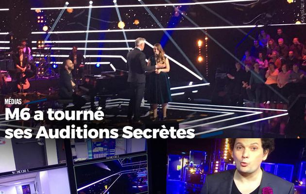 M6 a tourné ses Auditions Secrètes #M6