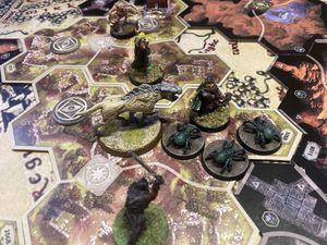 Les araignés viennent de l'extension !  Et un objet un ! Euh, pourquoi c'est toujours Legolas qui récupère tous !?