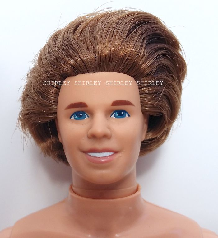 """TOTALLY HAIR"" KEN DOLL 1992 MATTEL #1115"
