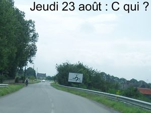 Bernard et Gérard étaient à Carhaix en tant que visiteurs.