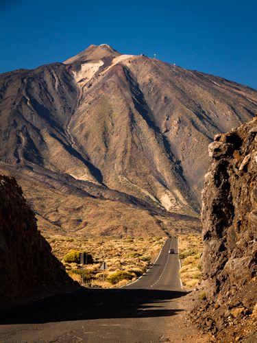 Ténérife. Parc National, Pic du Teide (3718m; point culminant de l'Espagne)
