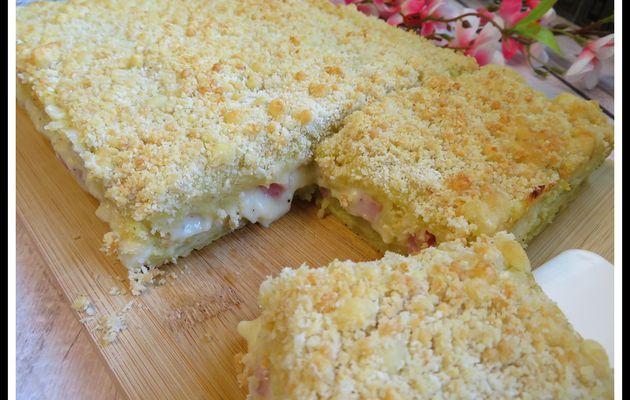 Gâteau de pommes de terre à la béchamel