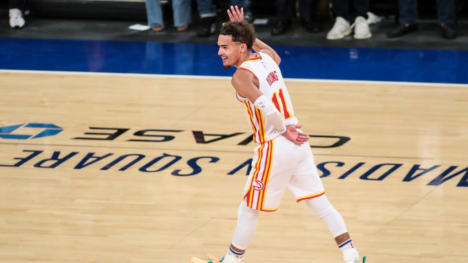 Trae Young termine les Knicks au Madison Square Garden