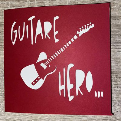 Carte guitare 3D