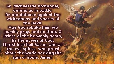 San Miguel Arcangel defiendenos
