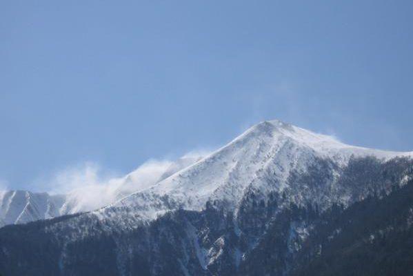 Crête de Brouffier au pied du Taillefer - 2300 m - 30 mars 2008
