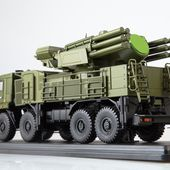 SSM1385 Pantsir-S1 / SA-22 Greyhound missel system on KAMAZ-6560 /khaki/