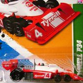 F1 TYRRELL P34 6 ROUES HOT WHEELS 1/64 - car-collector.net