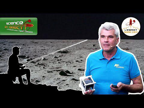 Science En Direct - Pêcher du poisson sur la Lune ? | Cyrille Przybyla