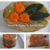 Terrine de Langue de Porc et ses légumes en Gelée - Chez Mamigoz