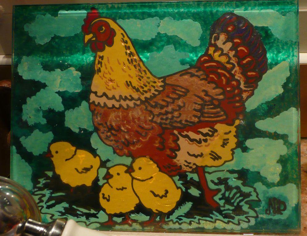 quelques unes de mes poulettes