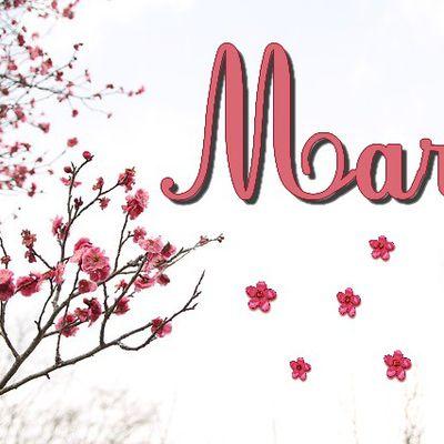 Bon mois de  Mars!