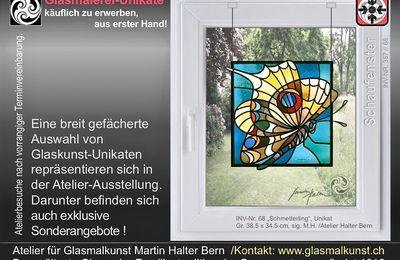 Glasmaler Martin Halter Bern Schweiz