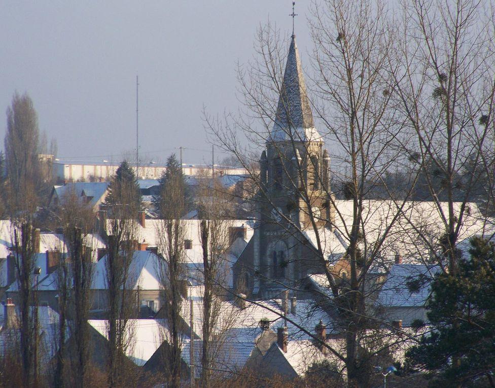 Quelques clichés pour apprécier notre village à la saison hivernale.