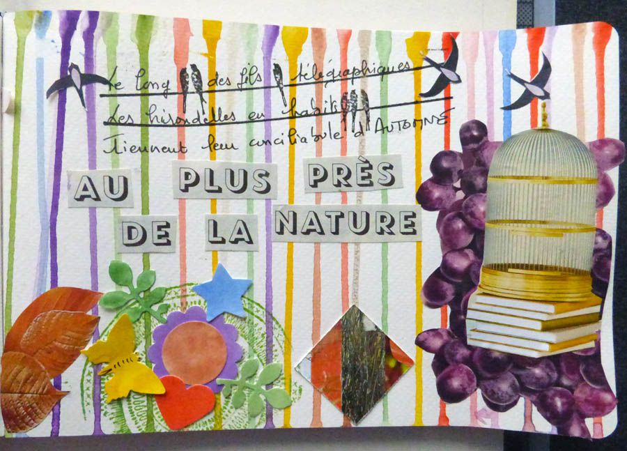 PAGES D'ART JOURNAL - 21/10/21