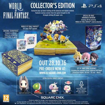 World of Final Fantasy – Edition Collector PS4