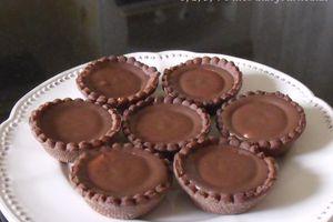 Minis tartelettes chocolat / banane