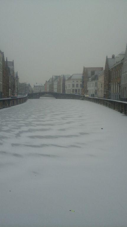 Étapes suivantes : Bruges et Gand.
