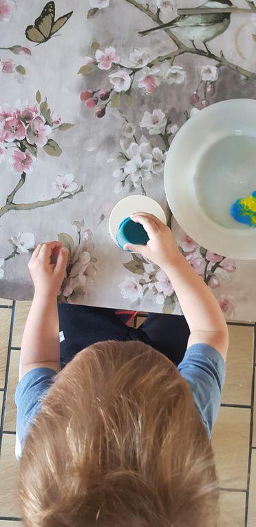 Attrape-rêve pour les mamans ou une petite lanterne , petite caisse à outils pour les papas et un joli cadre pour Tom 10 mois