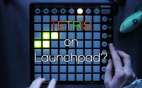 °o°  #Tetris  #Dubstep  #Launchpad