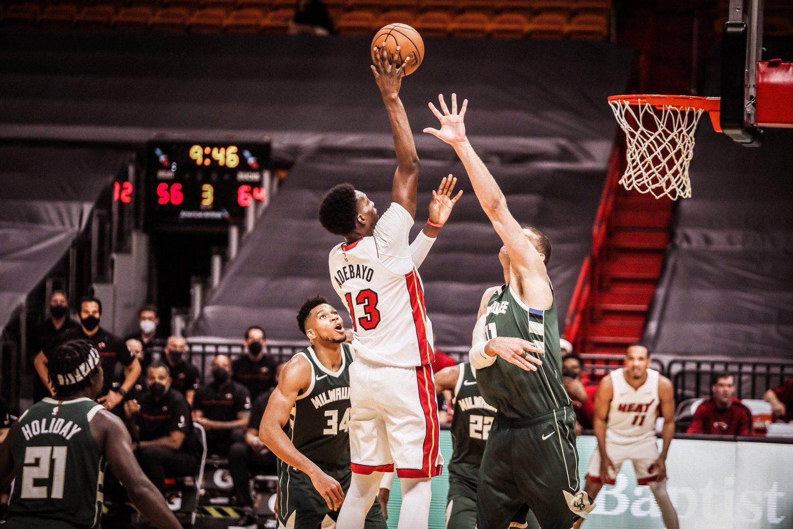 Bam Adebayo et le Miami Heat résistent au triple-double de Giannis Antetokounmpo