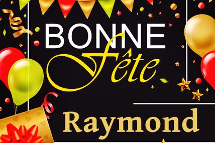 En ce 7 janvier, nous souhaitons une bonne fête à Raymond, Raymonde, Virginie, Cédric