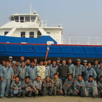 Loading of the CTM22 - pictures of the ship's departure to France