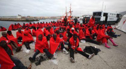 Imágenes de la Inmigración subsahariana hacia Europa.- El Muni.