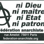 """★ L'anarchie de A à Z : """" V """" comme Violence étatique - Socialisme libertaire"""
