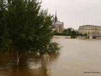 La Seine quitte son lit (juin 2016)