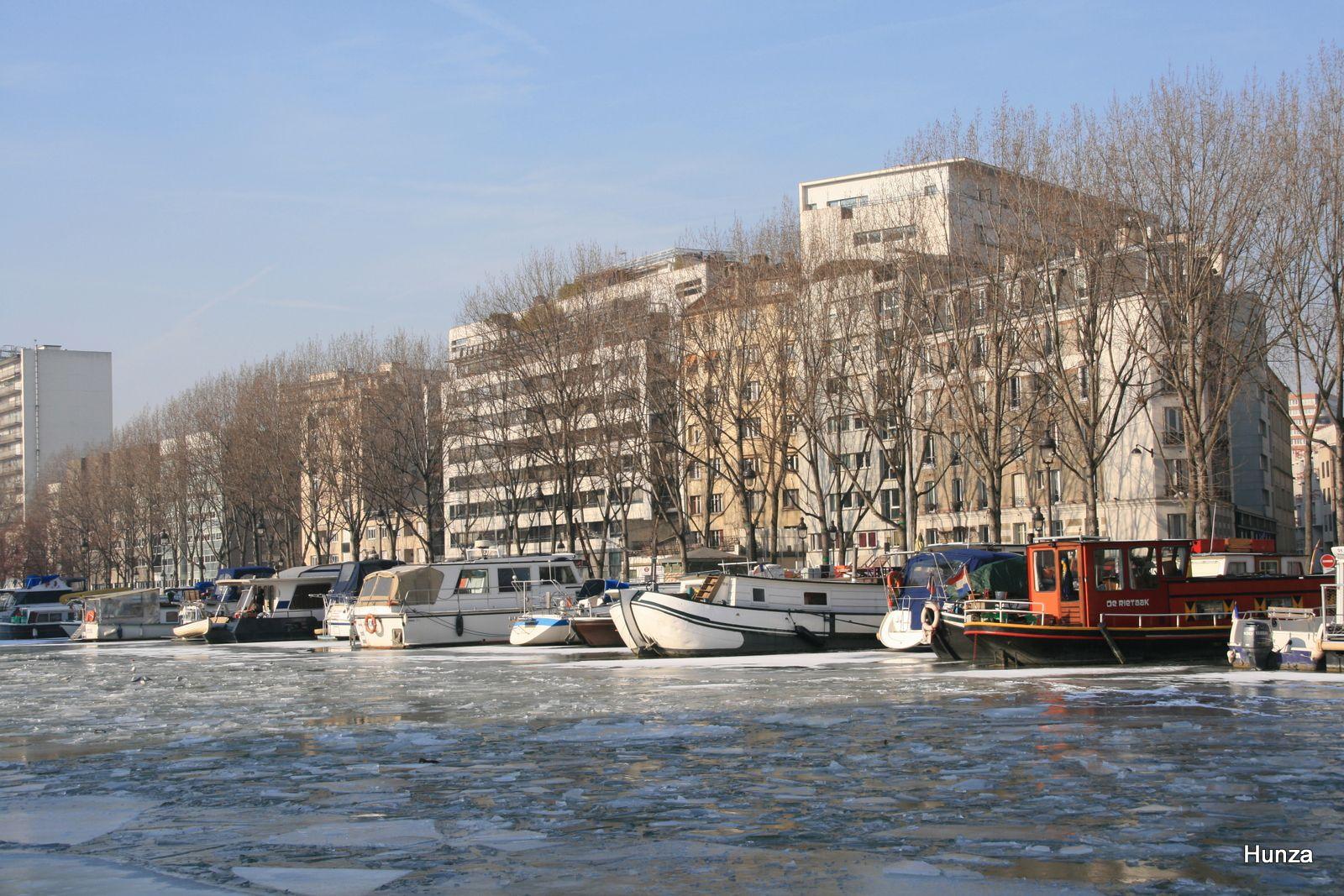 """La """"Halte de la Villette"""" (9 février 2012)"""