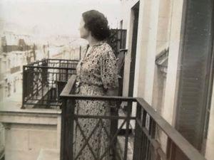 Ma Mère rue Laugier - Mon père mobilisé dans les Hautes Alpes - Amoureux - Mon père rue Laugier.