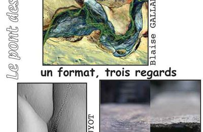 Un format, 3 regards - vernissage le 10 décembre