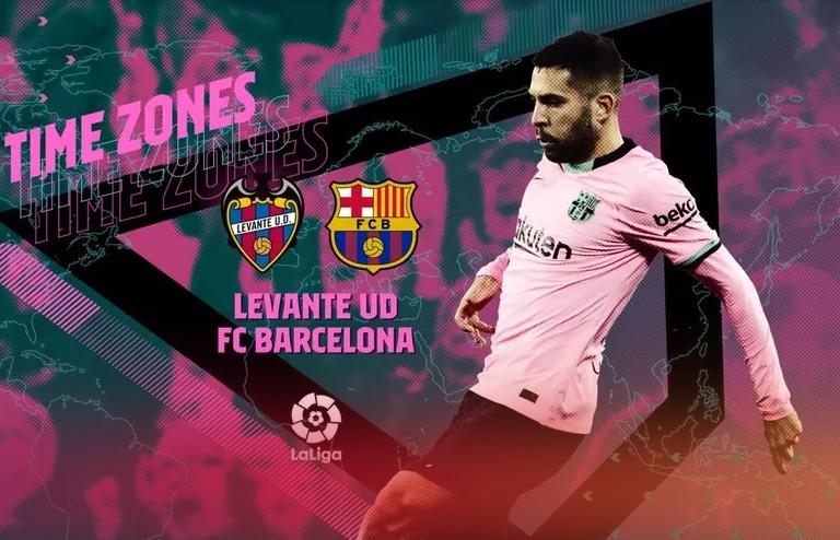 Levante / Barcelone : Sur quelle chaîne suivre la rencontre ce mardi ?
