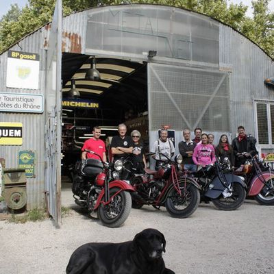 Indian - Harley Week end Entrechaux 11 au 13 Septembre 2015