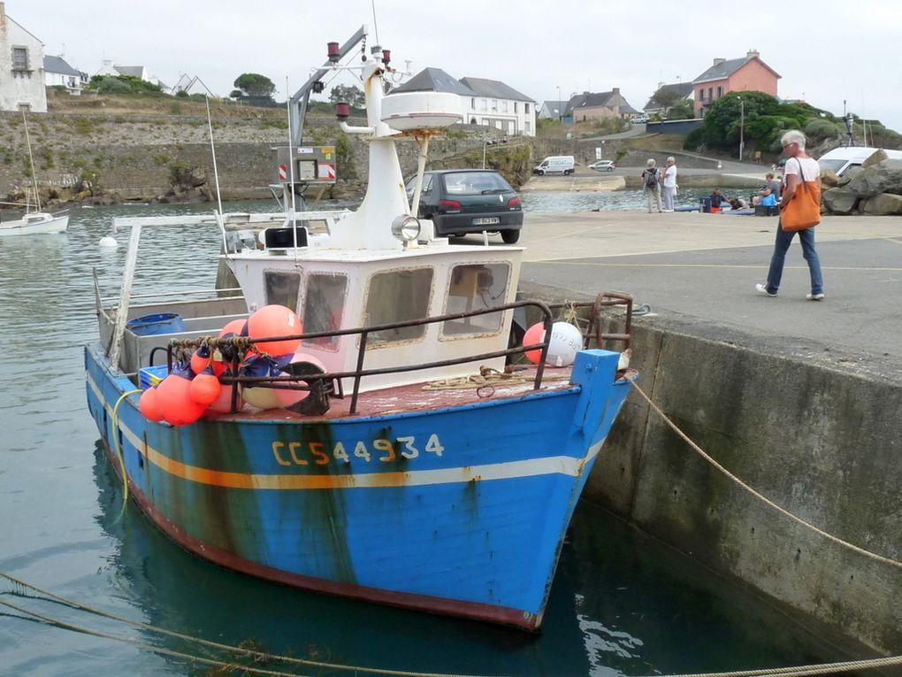 L'AVENTURE  , CC544934 à quai dans le port de Doëlan, sud Finistère le 13 septembre 2016