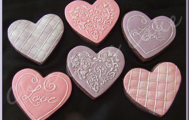 Coeurs à croquer....