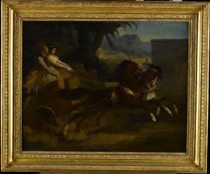 Le Retour de la course (Premier quart du XIXe siècle), Théodore Géricault Musée des Beaux-Arts de Rouen