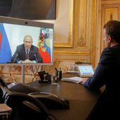 Vaccin contre le coronavirus: Poutine demande l'aide de Macron