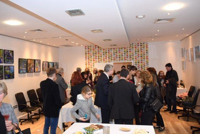 """Vernissage, visites et finissage de l'exposition """"Soleil du Maroc"""""""