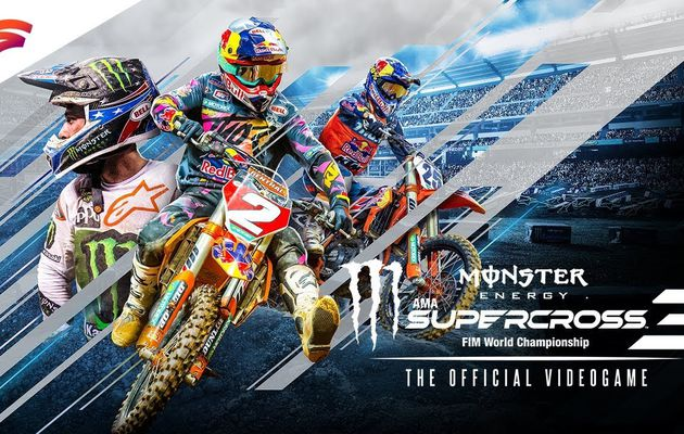 [TEST] MONSTER ENERGY SUPERCROSS THE OFFICIAL VIDEOGAME 3 XBOX ONE X : des bosses et du fun