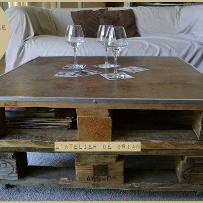 Table basse FACTORY